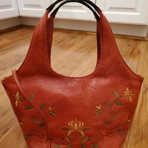 Nine West embroidered purse